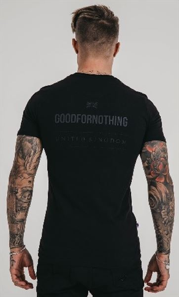 GOOD FOR NOTHING CAMISETA NEGRA (1)