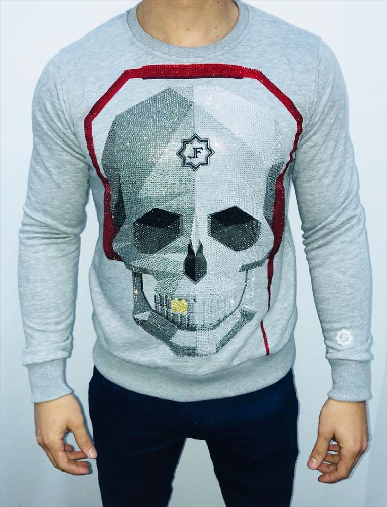 LOCAL FANATIC SUDADERA CALAVERA